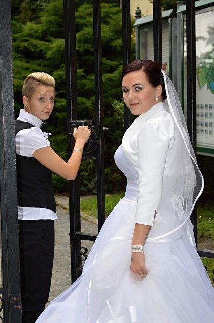 Soutěžní svatební pár číslo 231 - Lucia a Pavlína Jablunkovy, Kroměříž
