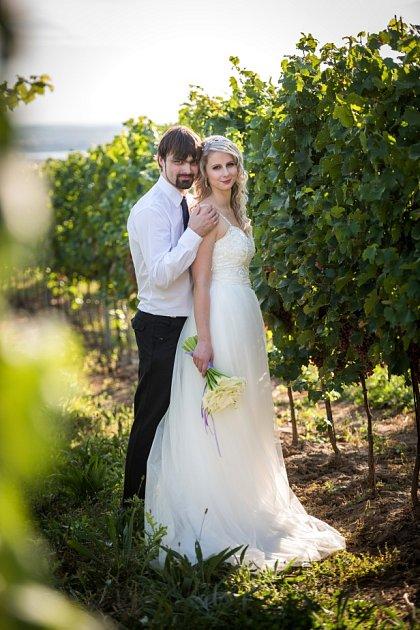Soutěžní svatební pár číslo 115 - Nicol a Roman Špunarovi, Lipník nad Bečvou