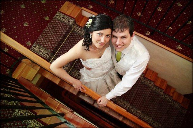 Soutěžní svatební pár číslo 163 - Sandra a Tomáš Smékalovi, Olomouc.