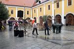 Počasí nepřálo Slováckým slavnostem.