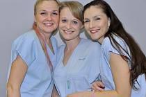 Sestry z neurologické JIP Uherskohradišťské nemocnice