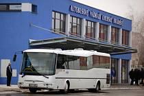 Nádraží ČSAD v Uherském Hradišti. Ilustrační foto.