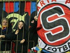 Fanoušci Sparta Praha.