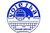 Logo volejbal VSK Staré Město.