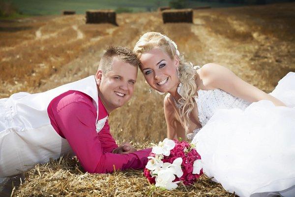 Soutěžní svatební pár číslo 144 - Michaela a Petr Ježkovi, Dolní Němčí
