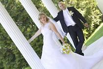 Soutěžní svatební pár číslo 27 – Magda a Radek Chválovi, Štěpánov u Olomouce