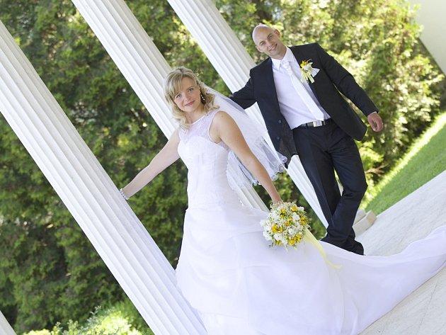 Soutěžní svatební pár číslo 27 – Magda a Radek Chválovi, Štěpánov uOlomouce