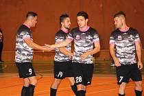 Futsalisté týmu Bazooka Uherské Hradiště. Ilustrační foto
