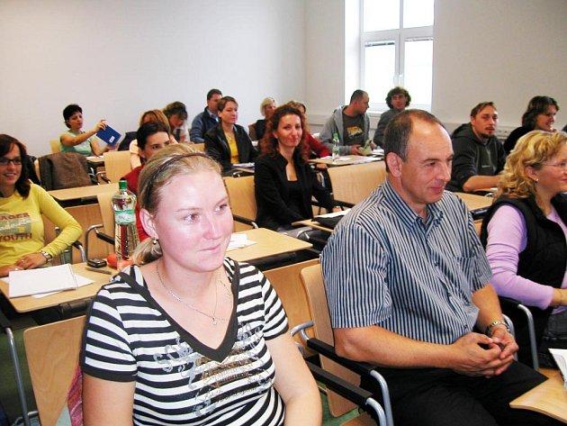 Studenti při přednášce. Ilustrační snímek.