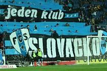 Fanoušci Slovácka. Ilustrační foto