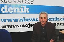 Ředitel Slováckého divadla Igor Stránský v ON-LINE rozhovoru ve Slováckém deníku.