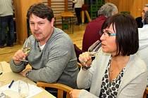 Na 11. ročníku jalubského koštu mohli vyznavači ušlechtilých moků ochutnat přes 600 vzorků vín.