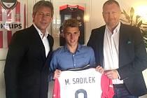 Talentovaný fotbalista 1. FC Slovácko Michal Sadílek bude hostovat v Eindhovenu.
