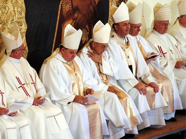 Na pouti se letos modlili všichni katoličtí biskupové české země.