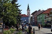 Selský trh v Uherském Hradišti přilákal o první srpnové sobotě stovky lidí.