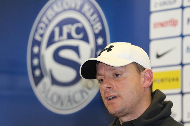 Trenér 1. FC Slovácko Martin Svědík