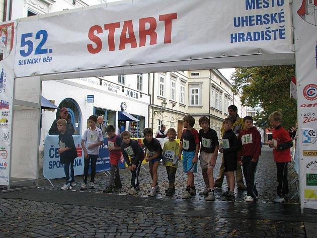 52. ročník Slováckého běhu se o víkendu uskutečnil v centru Uh. Hradiště.
