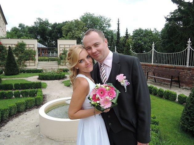Soutěžní svatební pár číslo 114 - Kristýna a Michal Hepplerovi, Olomouc.