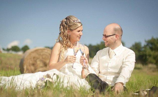 Soutěžní svatební pár číslo 179 - Martina a Petr Fialovi, Valašské Klobouky.