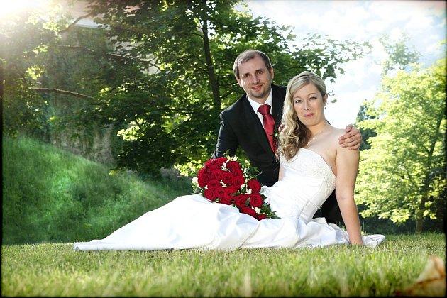 Soutěžní svatební pár číslo 184 - Jana a Petr Hrabalovi, Olšany uProstějova.