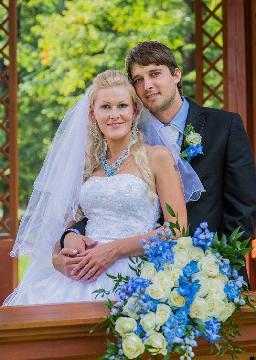 Soutěžní svatební pár číslo 282 - Jana a Tomáš Jiráskovi, Ostrava-Poruba.