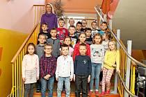 Prvňáčci Základní školy Traplice paní učitelky Martiny Šilhavíkové