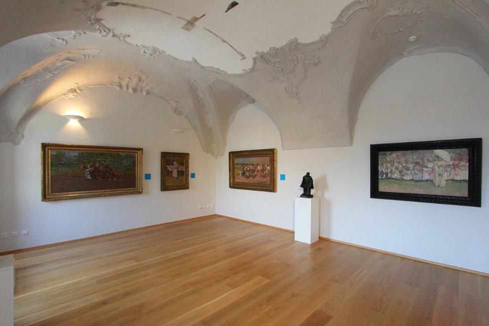 Galerie Joži Uprky v Uherském Hradišti.