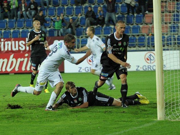 1. FC Slovácko - Příbram. Ilustrační foto.