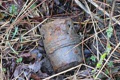 Mladík našel munici z II. světové války.
