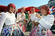 Slovácké slavnosti vína a Dny otevřených památek. Ilustrační foto z roku 2017.