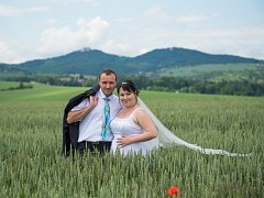 Soutěžní svatební pár číslo 15 -  Ivana a Miroslav Tiefenbacherovi, Koryčany.