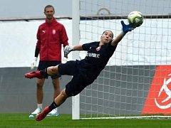 Dvacetiletá brankářka Slovácka Barbora Růžičková při premiéře za ženský národní tým udržela čisté konto.