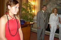 Oceněná Klára Holásková.