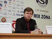 Trenér Slovácka Miroslav Soukup.