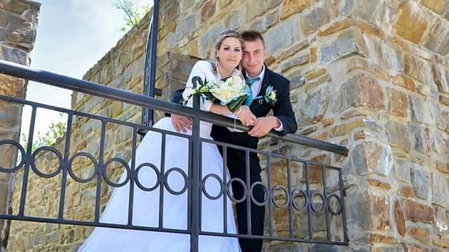 Soutěžní svatební pár číslo 45 - Lenka a Jakub Matějíčkovi, Uhersky brod