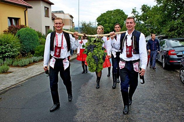 Vinařské slavnosti v Polešovicích. Ilustrační foto.