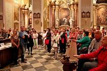 KOSTEL V NOCI. Už posedmé se zapojí velehradská bazilika do celostátní akce Noc kostelů.