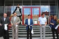 V Uherském Brodě ve středu 29. června slavnostně otevřeli prostory nově opravené historické budovy takzvané kachlíkárny.