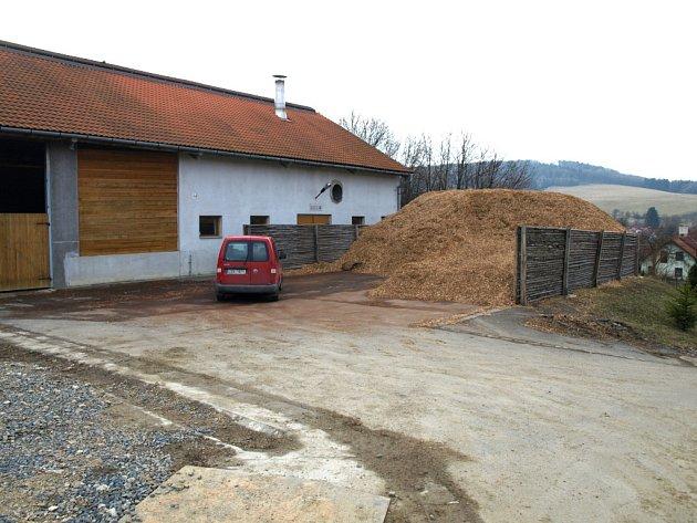 Na biopalivo funguje například také výtopna v Hostětíně.