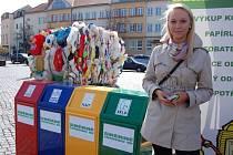 Den plný ekologie si v pátek užilo hradišťské Masarykovo náměstí.