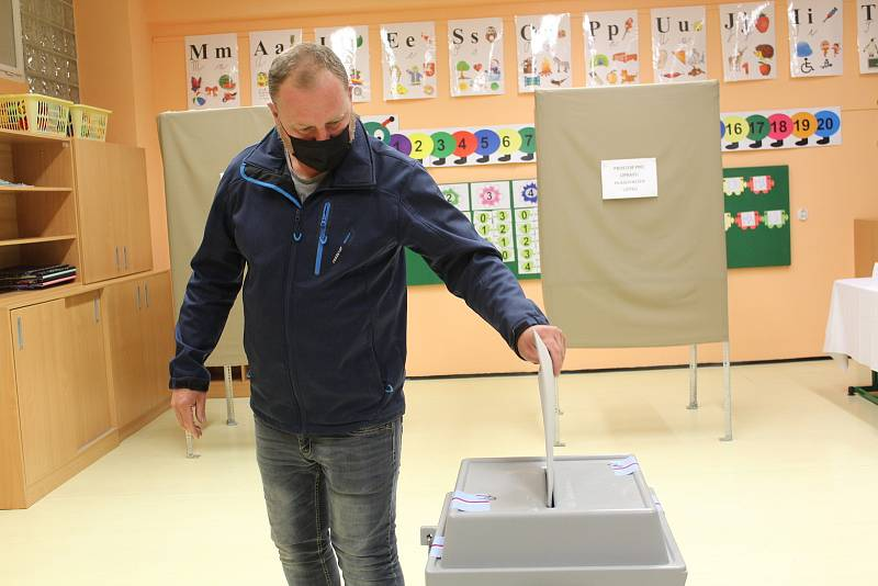 Volby do Poslanecké sněmovny 2021 v Dolním Němčí.