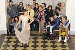Součástí maturitního týdne na hradišťské UMPRUM byla v pátek 30. května také tradiční módní přehlídka.