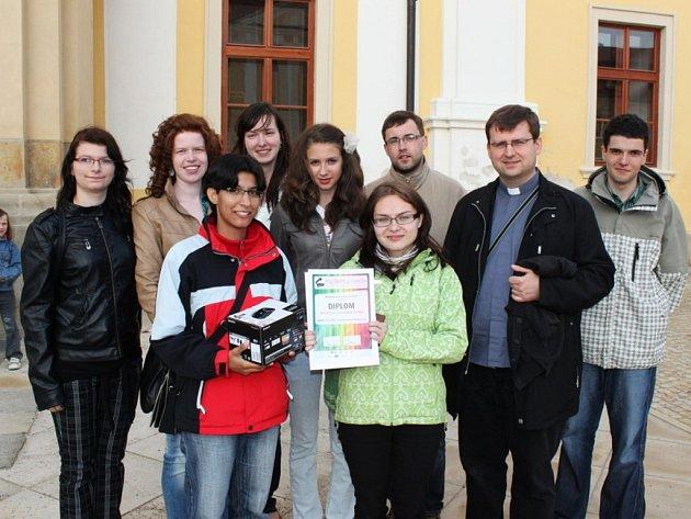 Slavnostní vyhlášení vítězů soutěže Velehradská kamera ve velehradské bazilice Nanebevzetí Panny Marie a sv. Cyrila a Metoděje.