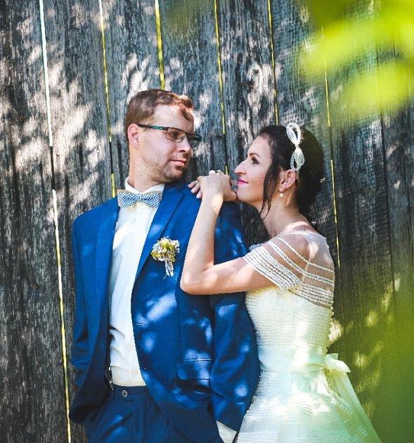 Soutěžní svatební pár číslo 135 - Zdeňka a Jan Mohlerovi, Kroměříž