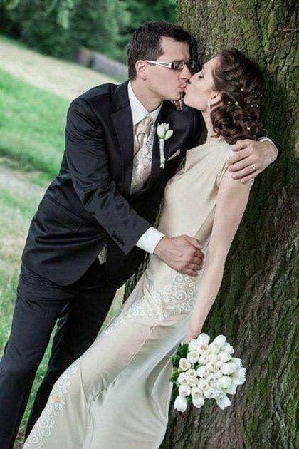 Soutěžní svatební pár číslo 143 - Hana a Michal Čermákovi, Olomouc.
