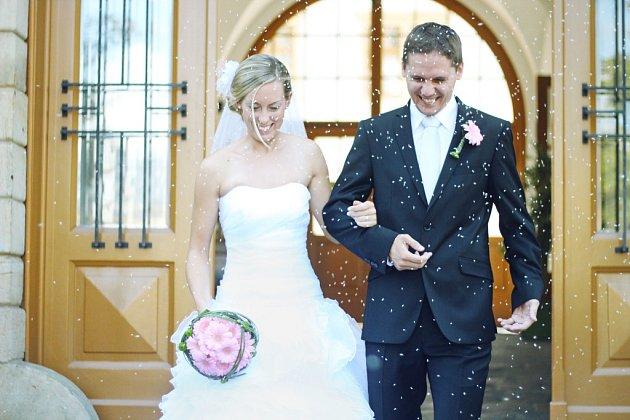Soutěžní svatební pár číslo 188 - Dita a Michal Pospíšilovi, Prostějov.