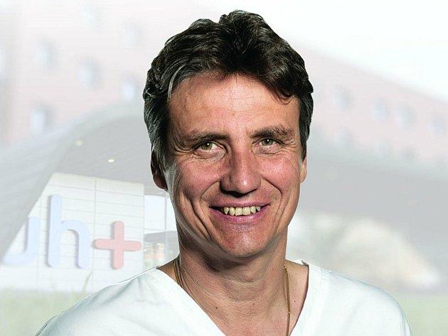 Petr Sládek, ředitel Uherskohradišťské nemocnice