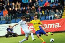 FC  FASTAV Zlín -1. FC Slovácko. Ilustrační foto.