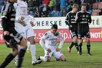V posledním vzájemném duelu na jaře letošního roku neproměnil Ladislav Volešák penaltu, a Příbramští tak mohli slavit těsnou výhru 1:0