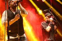 Skupina Free Fall oslavila v pátek v klubu Mír dvacet let.